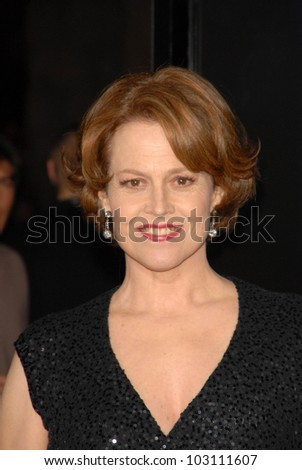 Sigourney Weaver at the Los Angeles Premiere of 'Avatar,' Chinese Theater, Hollywood, CA. 12-16-09