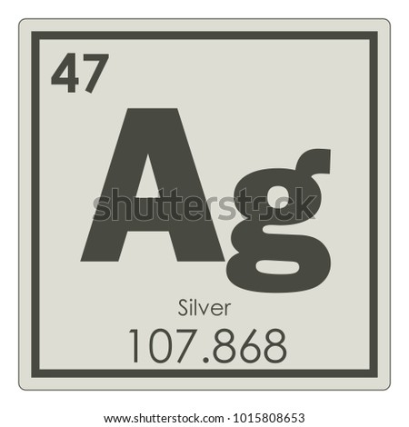 Periodic table element arsenic stock vector 467238725 shutterstock silver chemical element periodic table science symbol urtaz Gallery