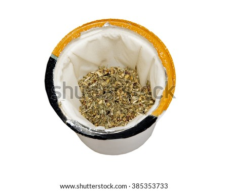 Single serve Tea Cup with Lemon Ginger