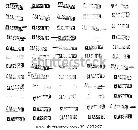 Sixty (60) classified stamps and redactions from an official Cold War sabotage manual