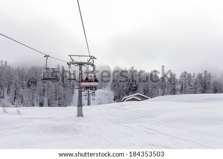 Gondola Chair Lift Ski Resort Caucasus Stock Photo 149438627 Shutterstock
