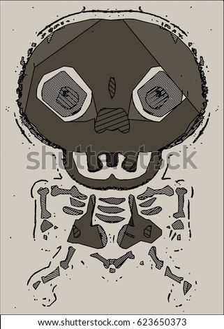 black white mummy head stock vector 302968595 shutterstock