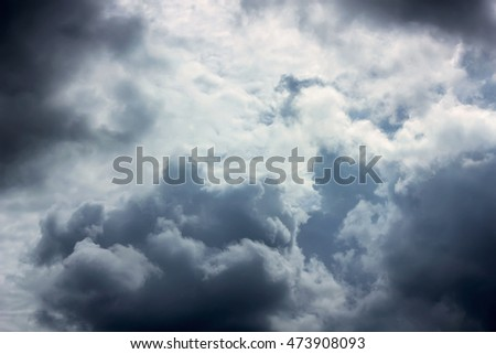 sky and cloud on background