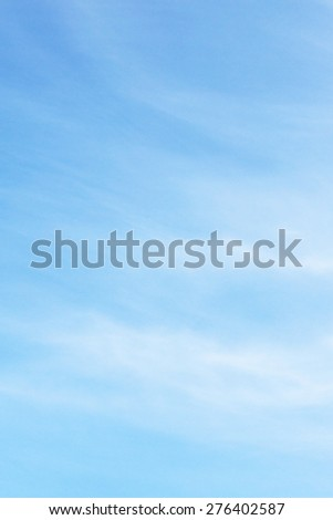 Sky fluffy background