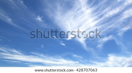 Sky white clouds background abstract nature fresh air