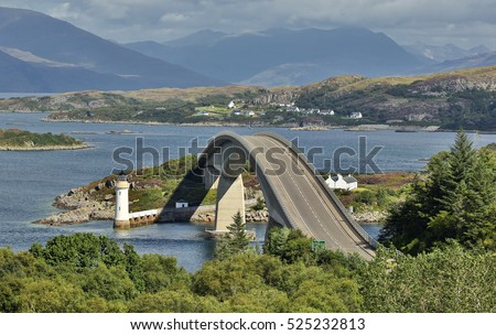 Skye Bridge (Isle of Skye, Scotland)