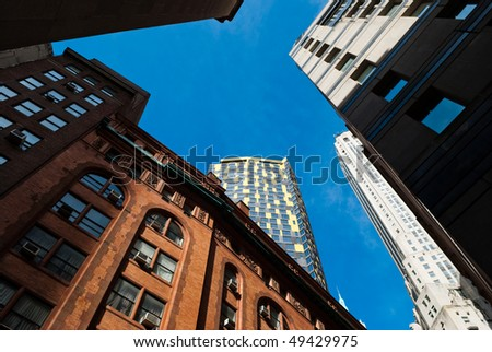 skyscraper in downtown Manhattan, New York City