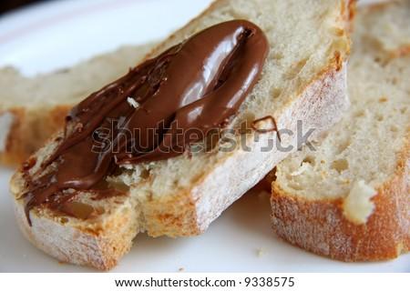 Overhead View Chocolate Marble Cake Stock Photo 179111726
