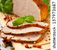 Sliced Roast Pork Loin - stock