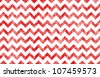 Slightly grunged image of a zig-zag / chevron pattern. - stock photo