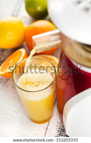 100 Gourmet Recipes For The Slow Juicer Download : Fresh Fruit Cocktail On Napkin On Stock Photo 470349836 ...