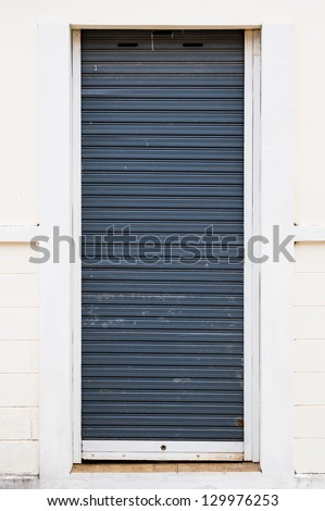 small metal roller shutter door