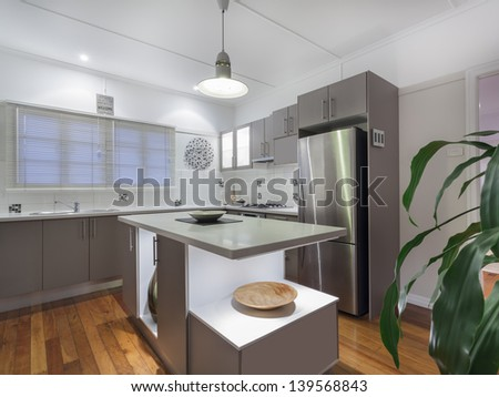 Small modern kitchen in Australian home