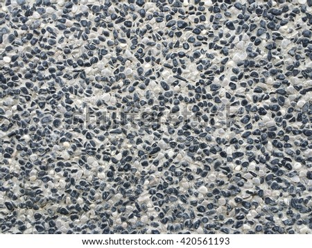 Small stone floor texture background