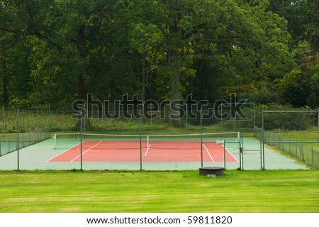 Small tennis court