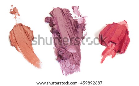 Smashed Lipstick Swatches