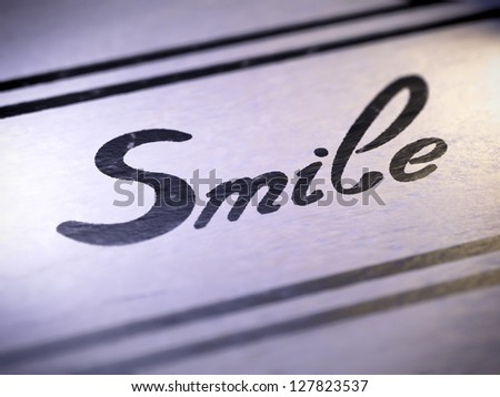 smile ( my own font )  Full collection of icons like that is in my portfolio