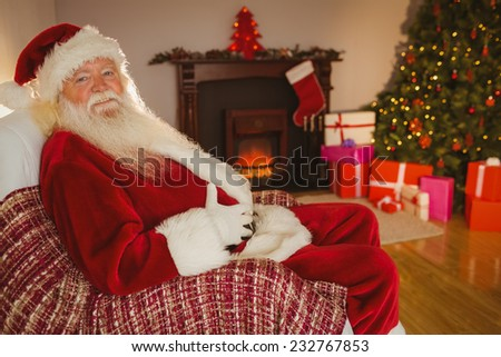 Santa Claus Putting Gifts Under Christmas Stock Photo 38005426 Shutterstock