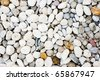 smooth beach stones - stock photo