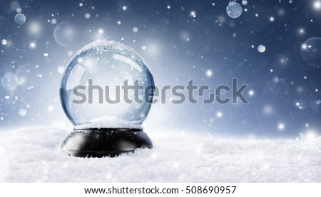 Snow Globe - Christmas Magic Ball