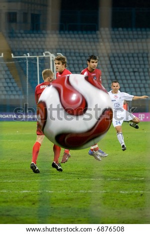 soccer or football free kick (take a look in my footage gallery for similar themes)