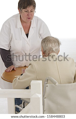 Social -care- assistance to elderly