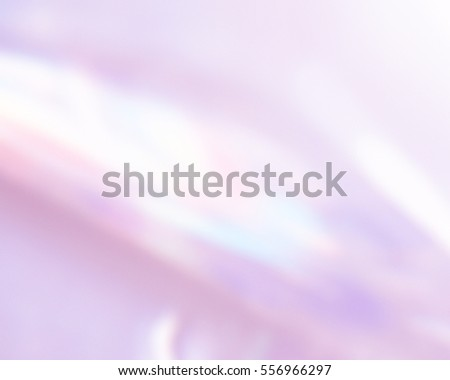 Soft crystal flare. Blurred beautiful abstract background. Pastel tone backdrop.