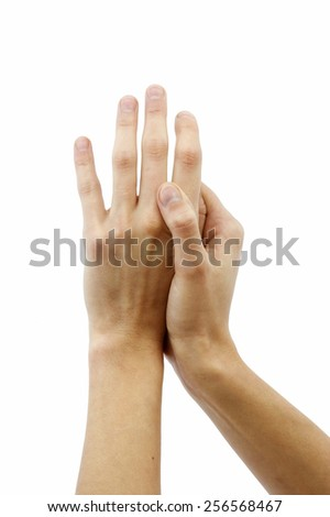 Soft female hands