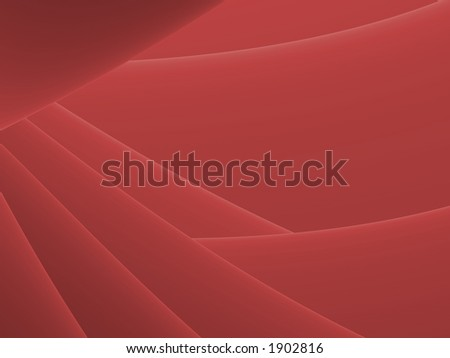 Soft Red Descent - Illustration