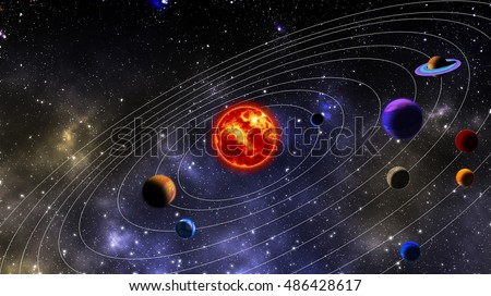 planets galaxy distribution - photo #2