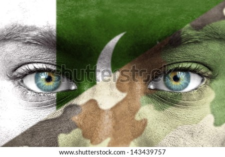 Soldier from Pakistan