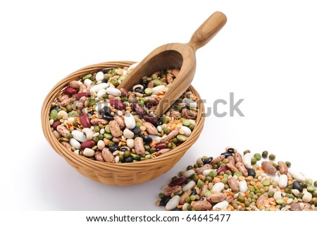 Soup of legumes and cereals