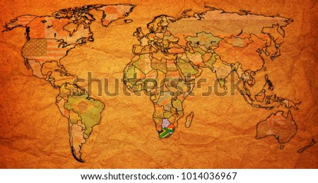 World political map of african union members who are countries actual political map africa national flags stock illustration on gumiabroncs Images