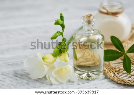 Bottle Absent Tincture Tarragon Healthy Herbs Stock Photo