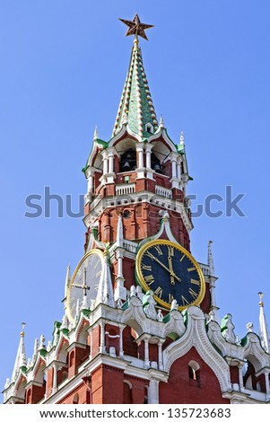 Spasskaya Tower, Moscow, Russia