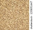 Spelt organic wheat raw cereal close up texture or background. Italian healthy eating - stock photo