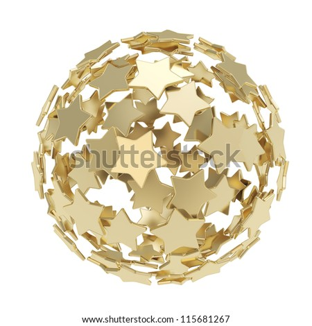 Related Pictures background made of gold stars a vector illustration