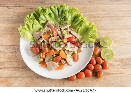 Top View Steamed Mixed Vegetables Large Stock Photo 360444077