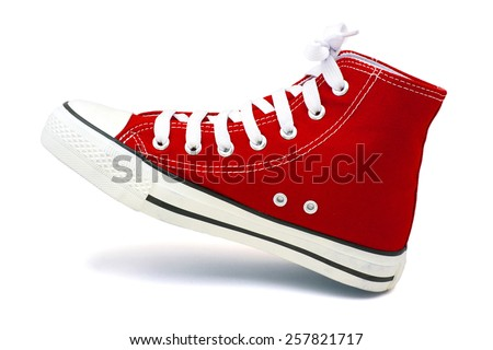Sport Shoes Isolated on white.
