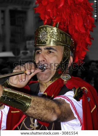 SPQR Series - Imagery depicting re-enactment of Roman Empire legion march, during Good Friday procession in Malta. No detail is spared, resulting in realistic weaponry and uniforms.