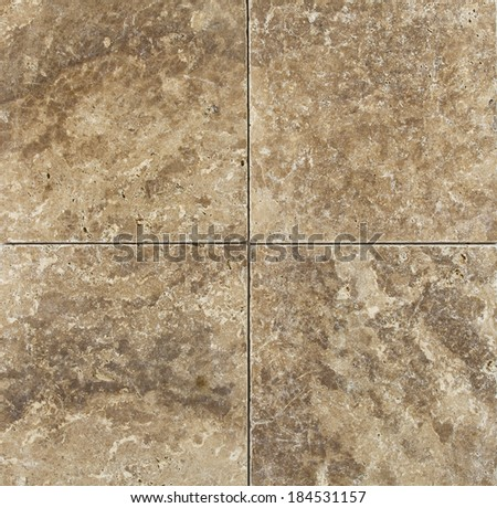 Square marble tiles background