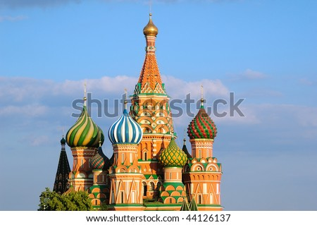 St. Basil's Cathedral, sunset