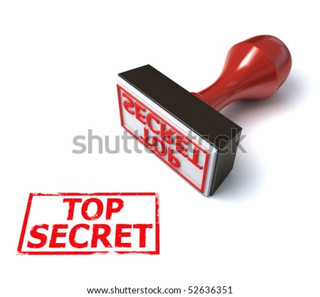 stamp top secret