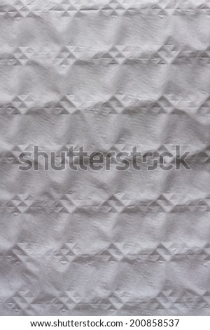 Stamped paper texture