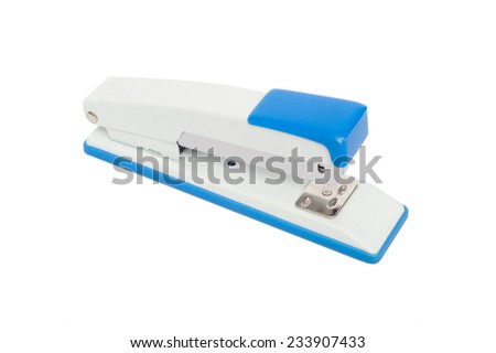 Stapler isolated on white background