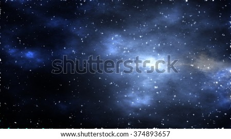 Starfield Background Suitable for Custom Subjects