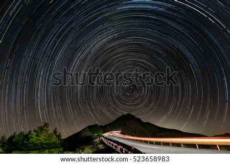 Startrails in TAIWAN