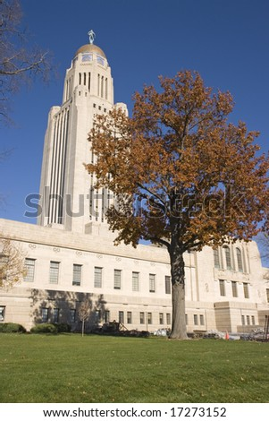 State Capitol of Nebraska in Lincoln