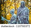 Station of the Cross in Czestochowa, Poland - stock photo