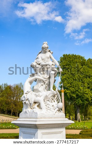 Statue near the Sanssouci palace of Potsdam, Germany